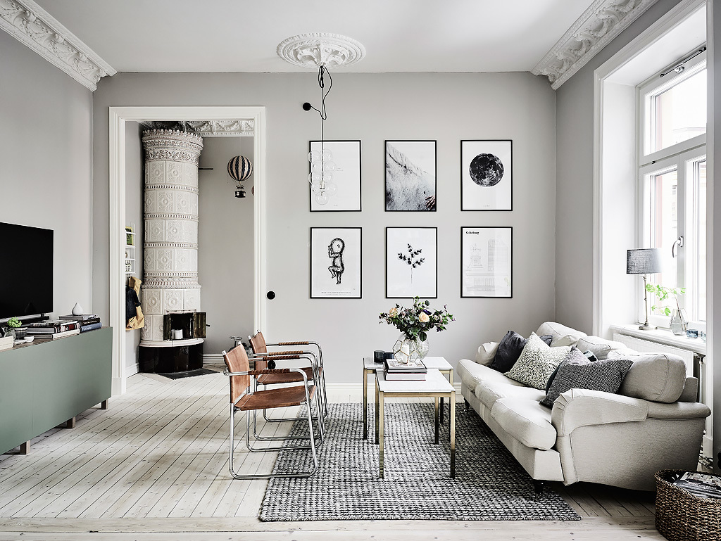 Gray Interior Paint grey and white interior design inspiration from scandinavia