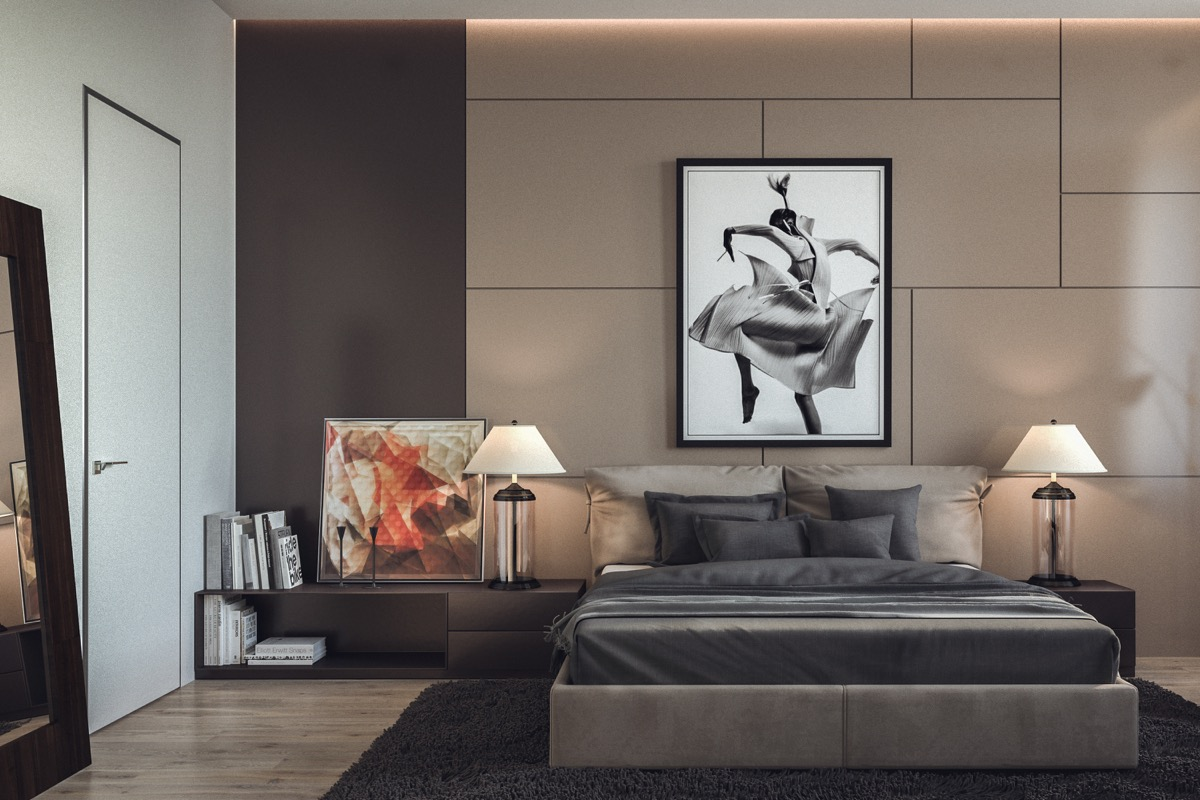 tastefully use art to amplify the ambiance of your rooms
