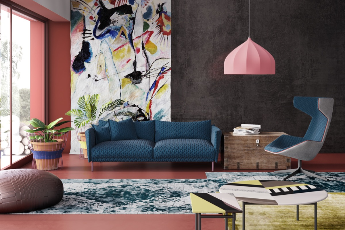 Tastefully use art to amplify the ambiance of your rooms Room visualizer furniture