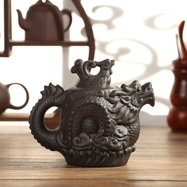 40 unique teapots to help you savour the taste of tea - Imperial dragon cast iron teapot ...