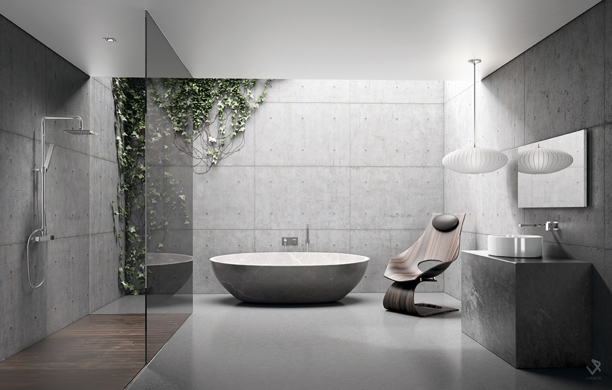 Beautifully unique bathroom designs for Different bathroom ideas