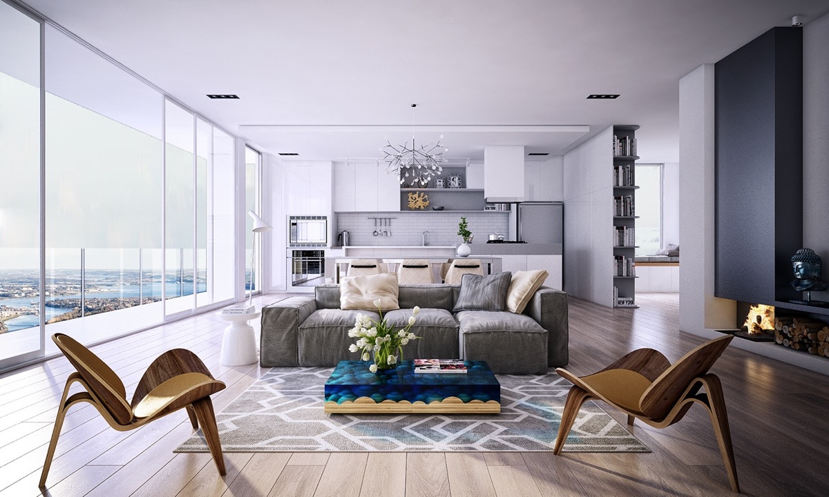 25 Living Rooms That Sport Spectacular Views