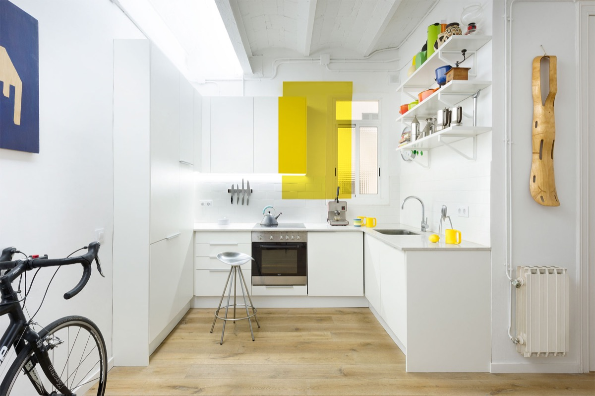 Yellow And White Kitchen 30 Modern White Kitchens That Exemplify Refinement