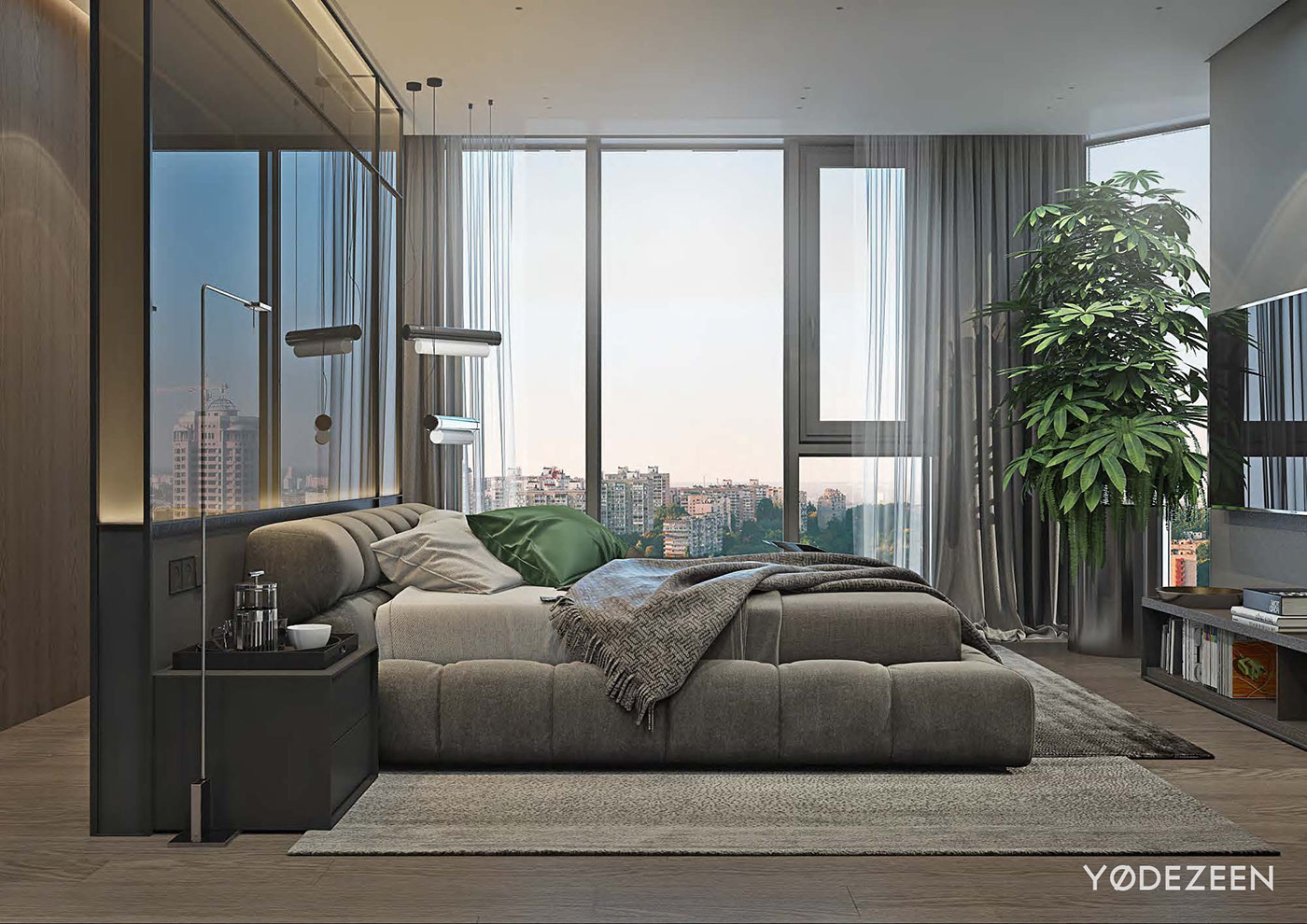 Luxurious Apartment Redefines The Term 'Urban Jungle' images 19