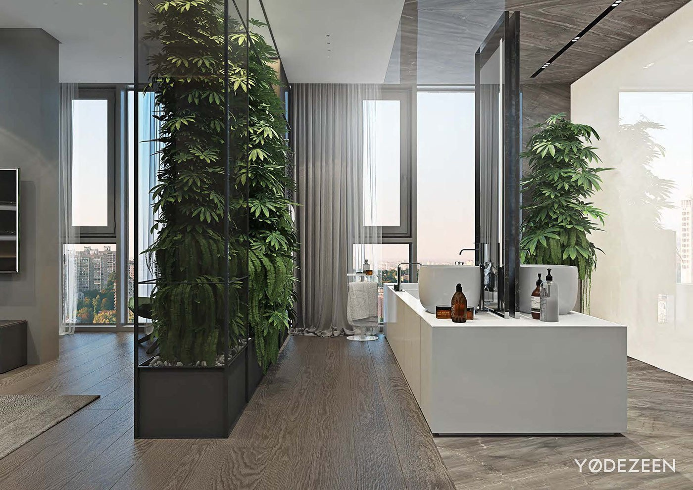 Luxurious Apartment Redefines The Term 'Urban Jungle' images 30