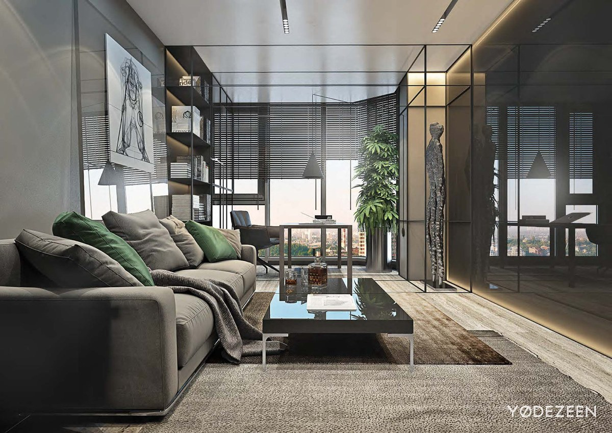 Luxurious Apartment Redefines The Term 'Urban Jungle' images 3