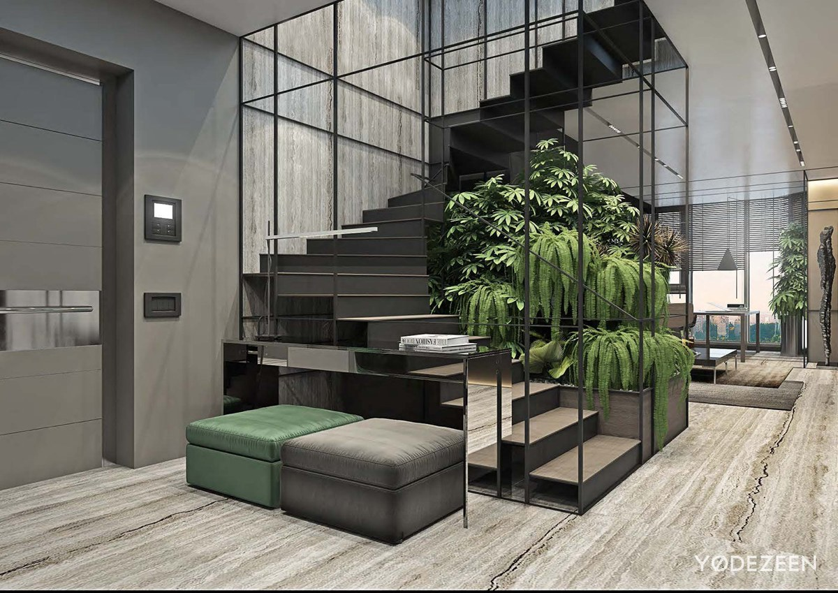 Luxurious Apartment Redefines The Term 'Urban Jungle' images 9