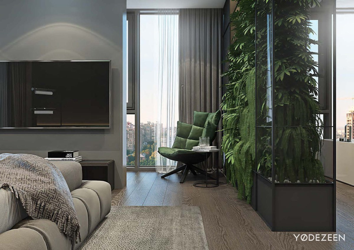 Luxurious Apartment Redefines The Term 'Urban Jungle' images 25