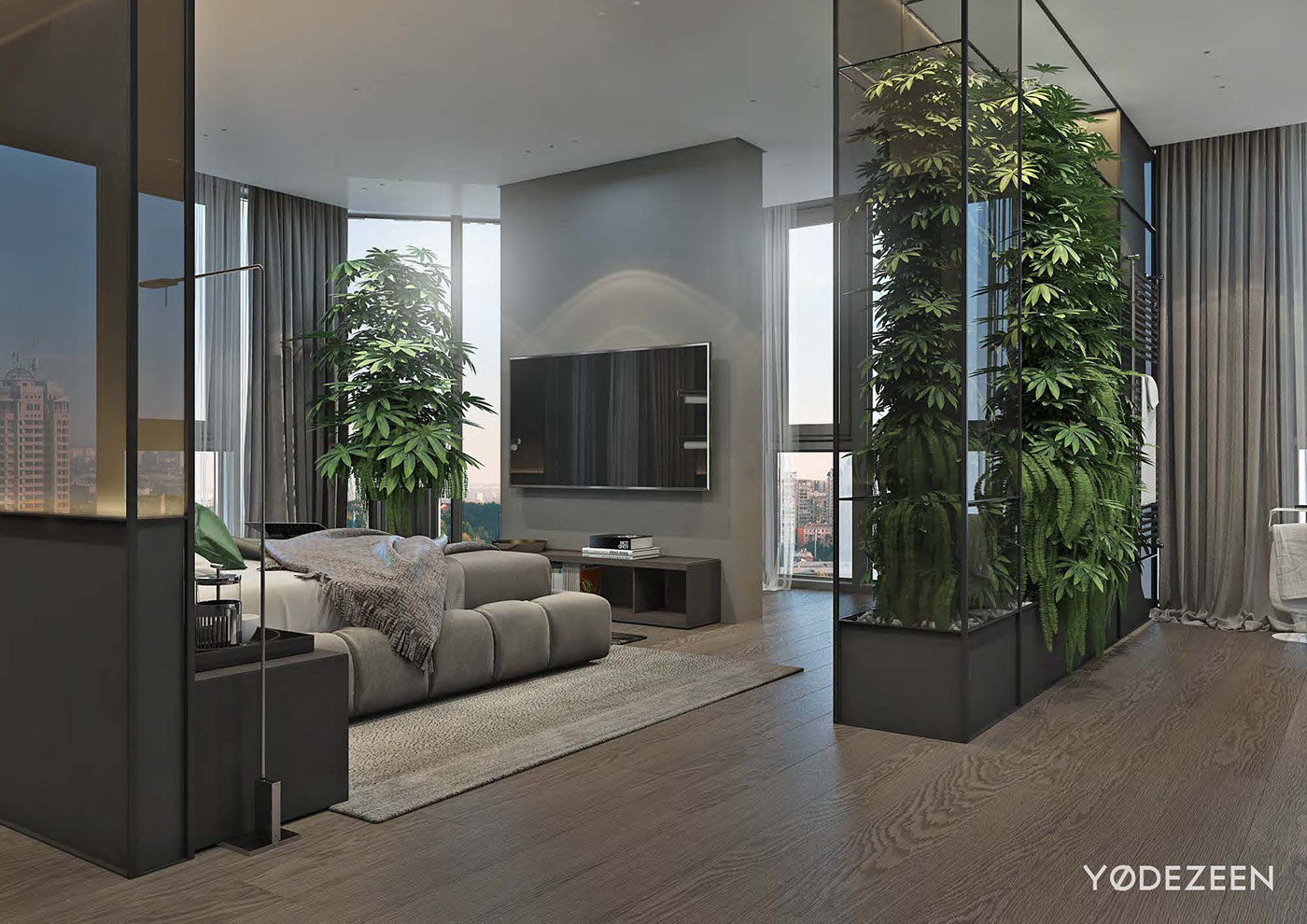 Luxurious Apartment Redefines The Term 'Urban Jungle' images 20