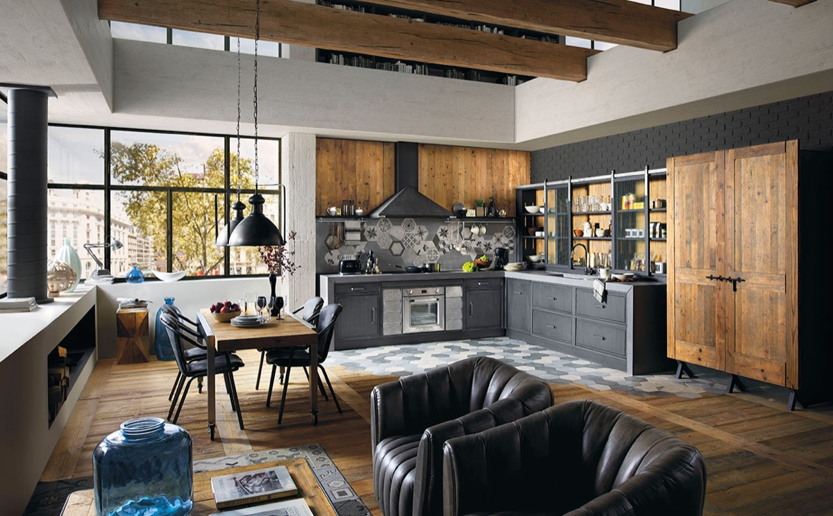 32 industrial style kitchens that will make you fall in love - Industrial Kitchen