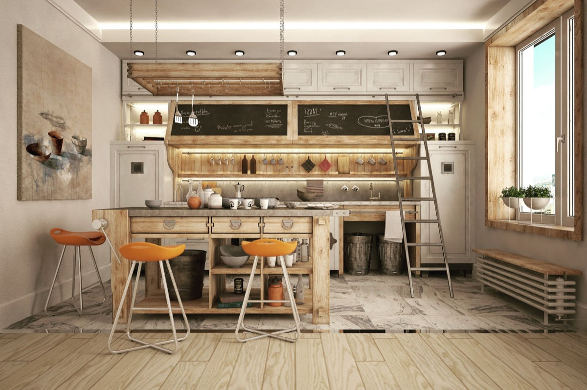 32 industrial style kitchens that will make you fall in love Industrial design kitchen ideas