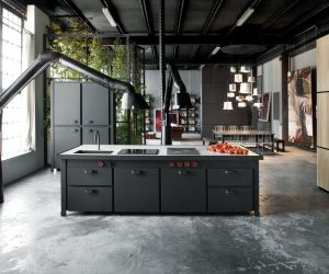 32 industrial style kitchens that will make you fall in love - Industrial Interior Design Ideas