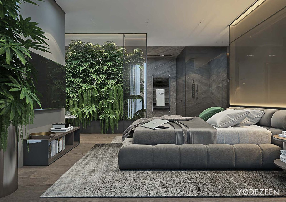 Luxurious Apartment Redefines The Term 'Urban Jungle' images 26