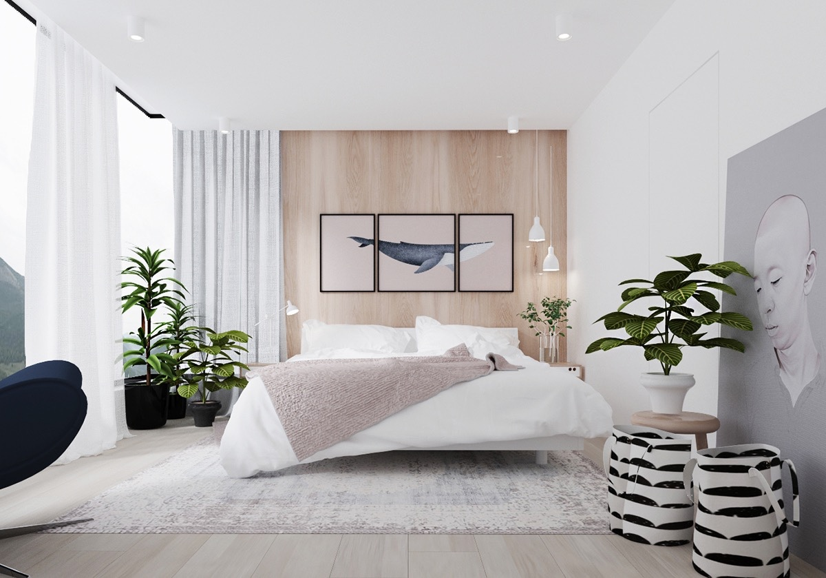 Lovely Wooden Wall Designs Striking Bedrooms That Use The Wood Finish Artfully