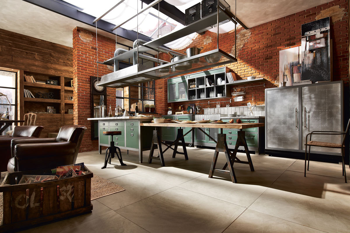 Industriele Keuken Industrial : 32 industrial style kitchens that will make you fall in love