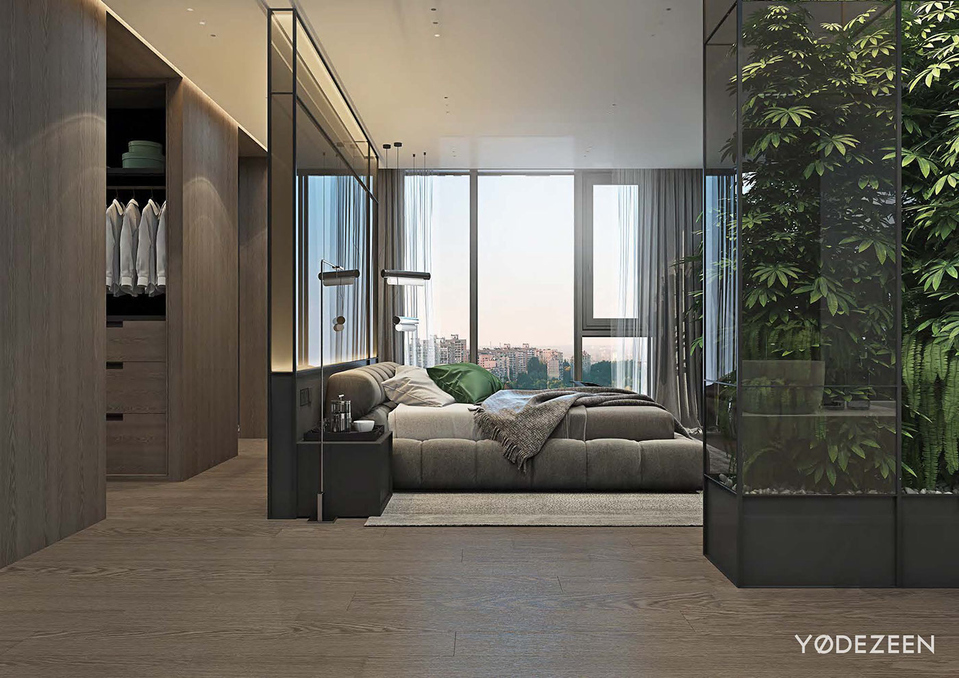 Luxurious Apartment Redefines The Term 'Urban Jungle' images 21