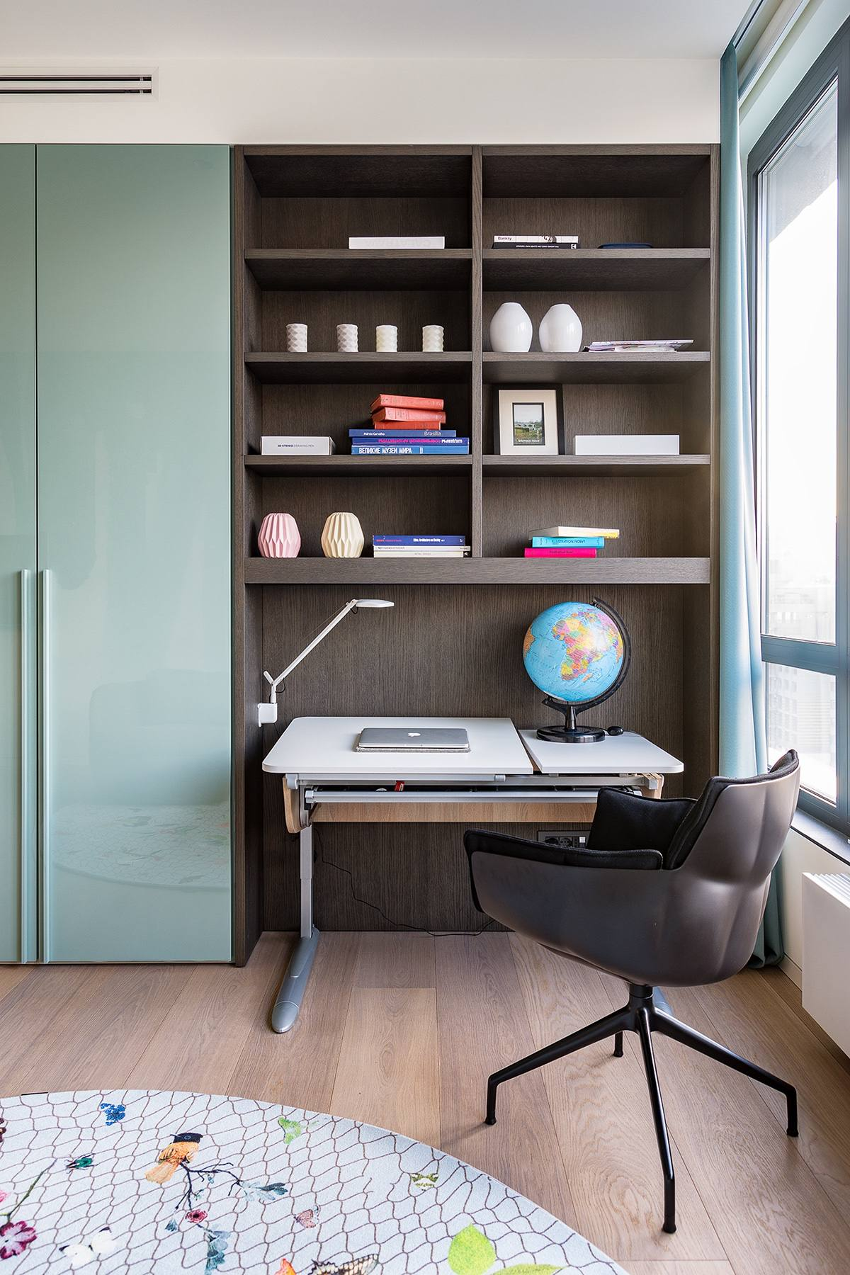 Desk Area - Modern perfection in kyiv apartment