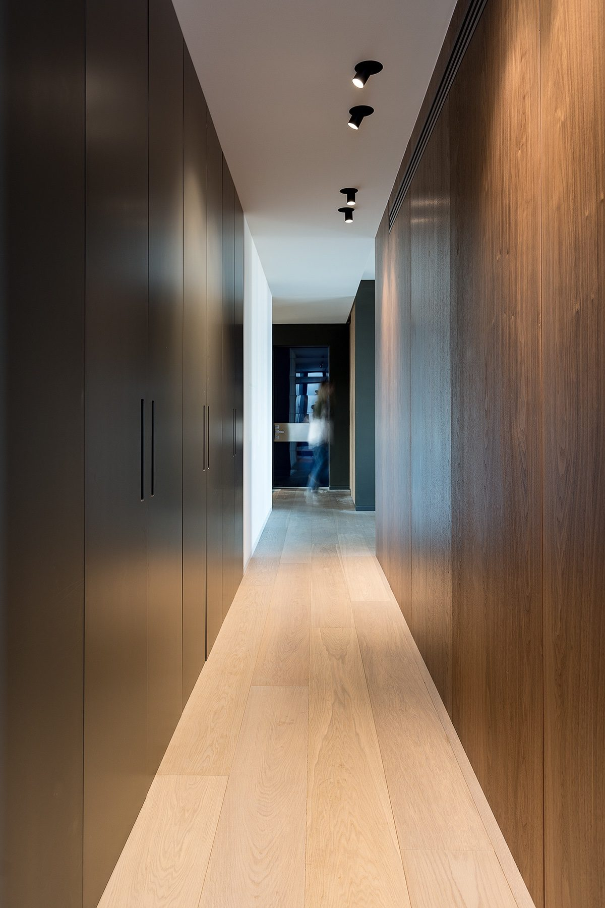 Galley Hallway - Modern perfection in kyiv apartment