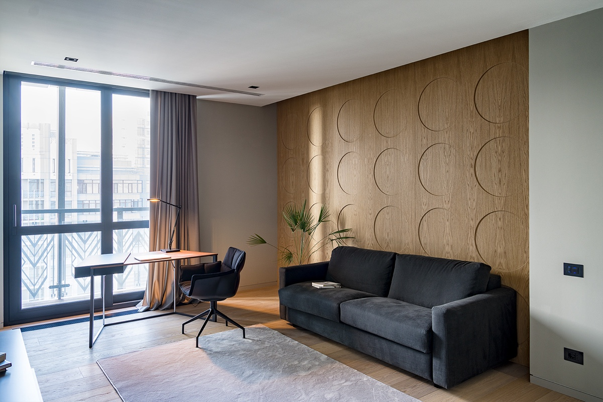 Office Space - Modern perfection in kyiv apartment