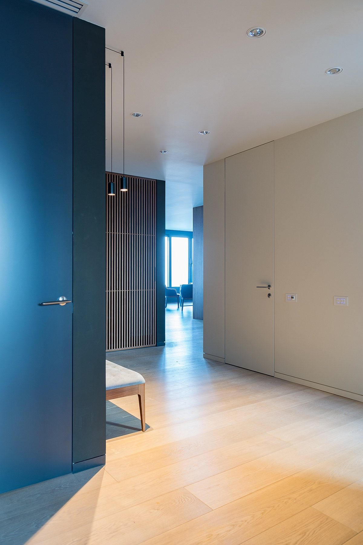 Open Hallway - Modern perfection in kyiv apartment