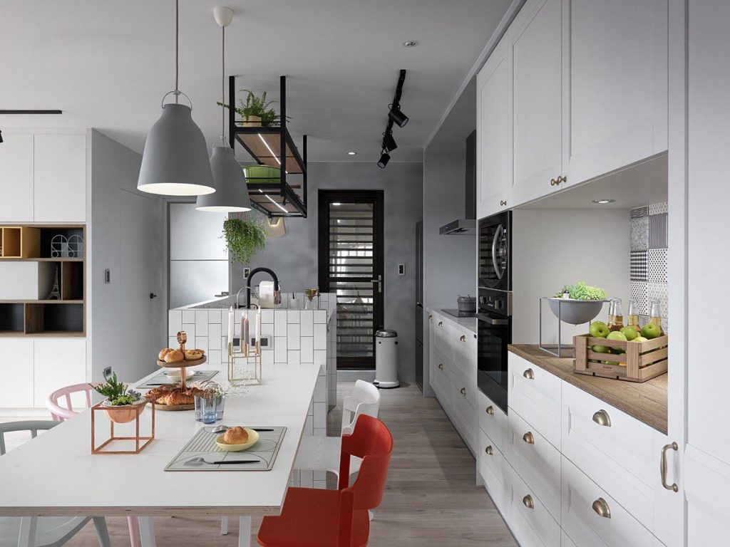 A Scandinavian Style Apartment That
