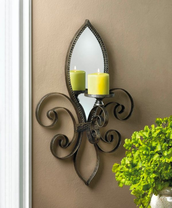 BUY IT · Fleur De Lis Mirrored Wall ...