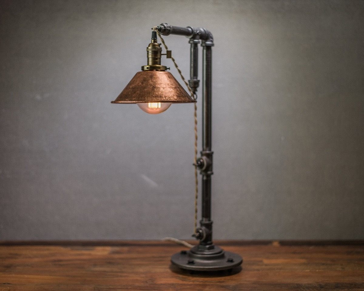 30 industrial style lighting fixtures to help you achieve for A lamp and fixture