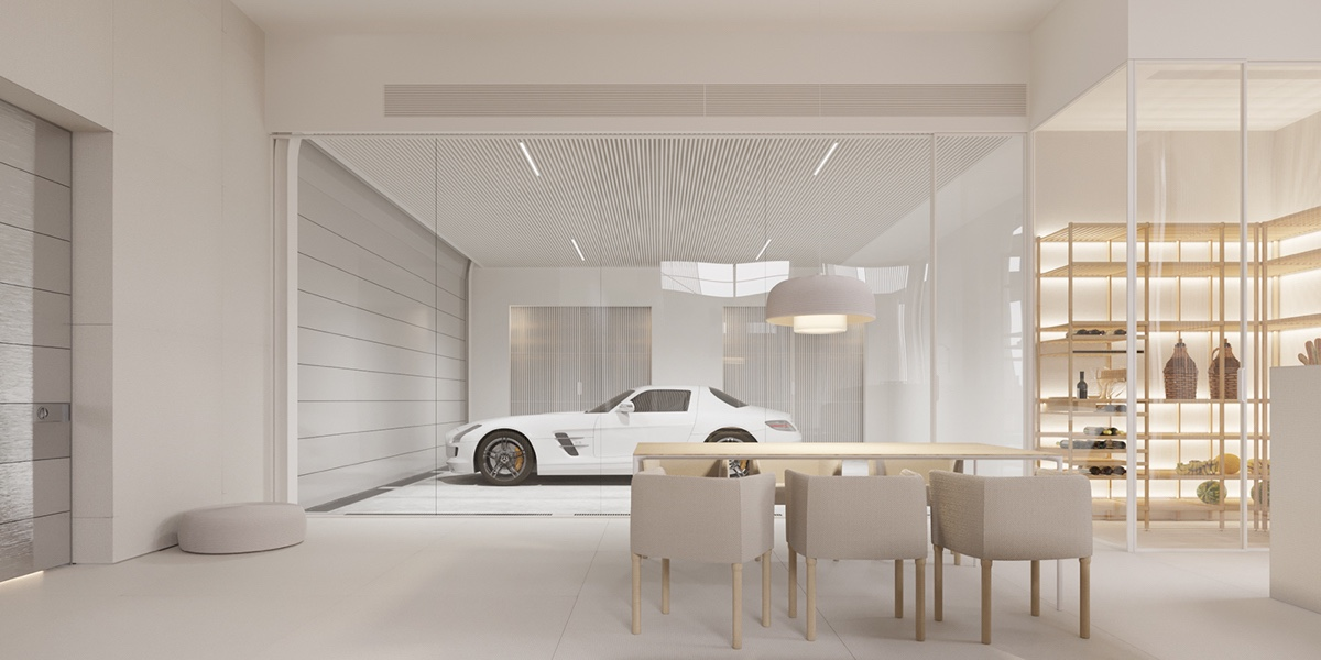 A mesmerizingly minimalist 4 bedroom luxury house by igor for Minimalist interior design meaning