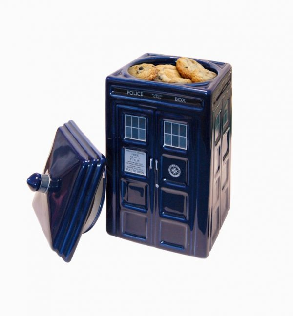 42 unique cookie jars that you won 39 t be able to keep your hands out of - Tardis ceramic cookie jar ...