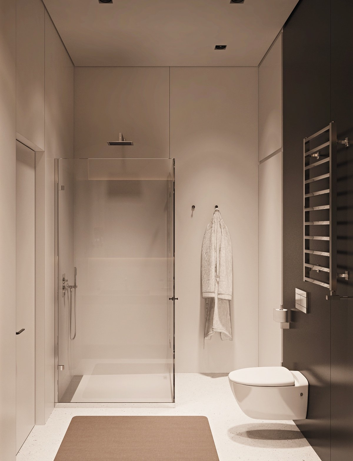 Small space luxury three modern apartments under 40 square metres that ooze class - Luxury shower cubicles ...