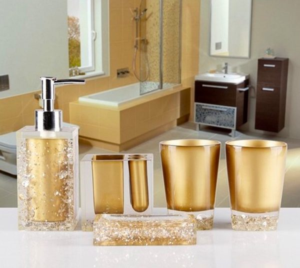 BUY IT · Golden Soap Dispenser ...