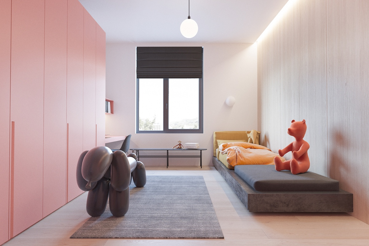 Little Girls Dream Bedroom Home Designing 3 Modern Minimalist Apartments For Young Families