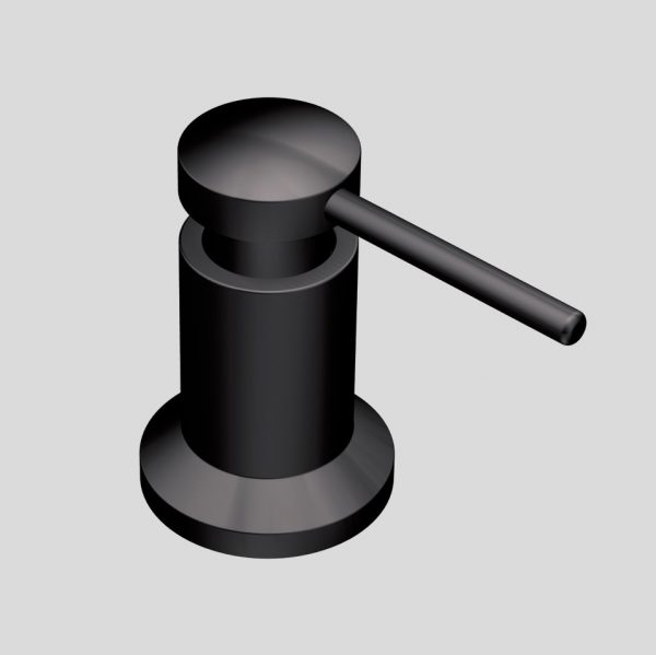 BUY IT · Moan Matte Black Soap Dispenser: ...