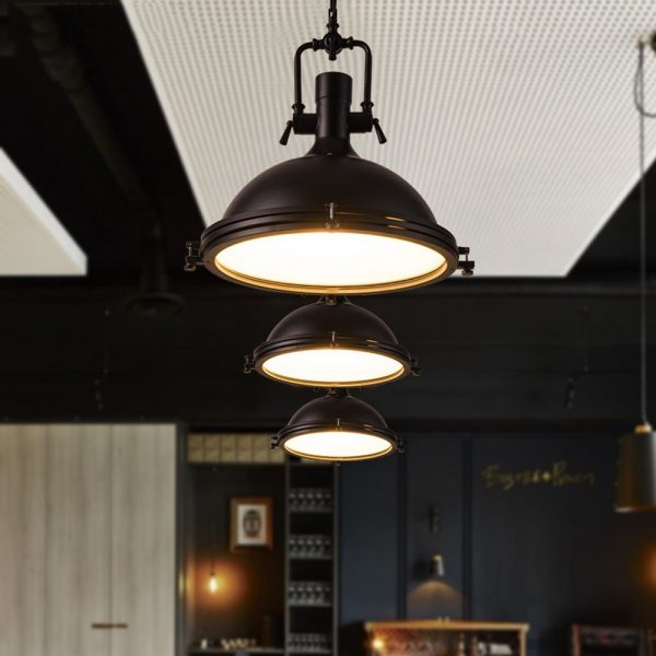 modern industrial pendant lights let frosted light coat your kitchen