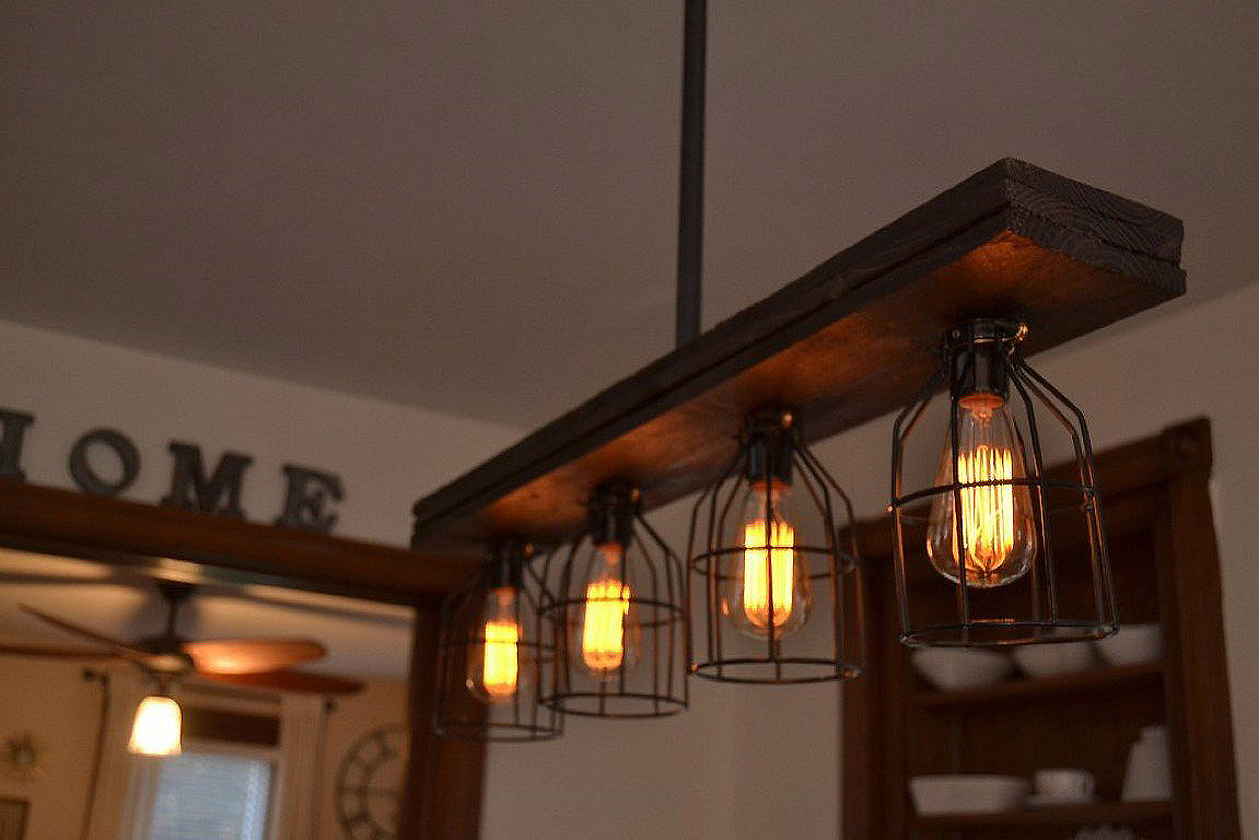 Farmhouse Style Dining Room Light