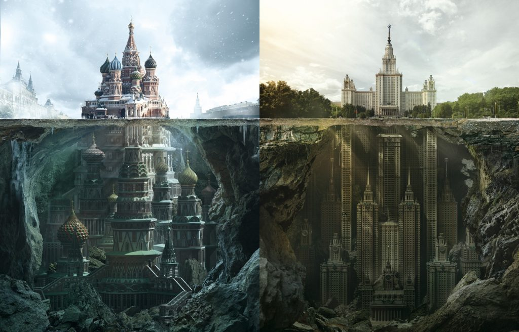 Fantastic Reimagination Of Iconic Russian Architectural Landmarks By Carioca Studio