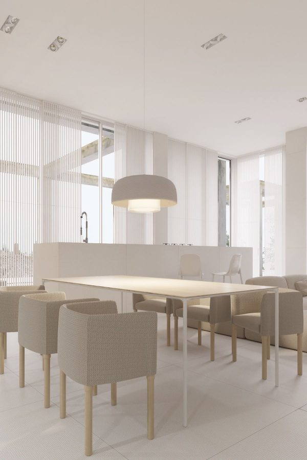A mesmerizingly minimalist 4 bedroom luxury house by igor for Dining room useless