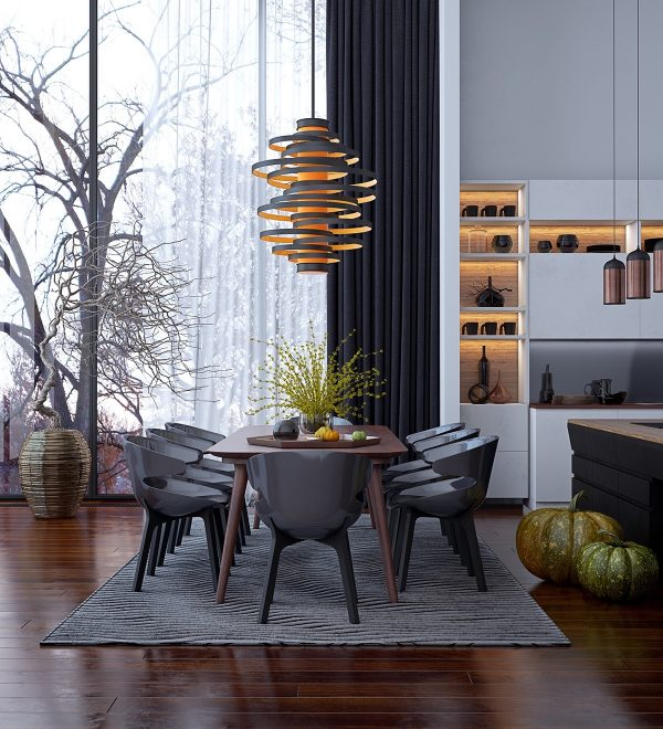 Dining Room Pendant Lights: 40 Beautiful Lighting Fixtures To ...