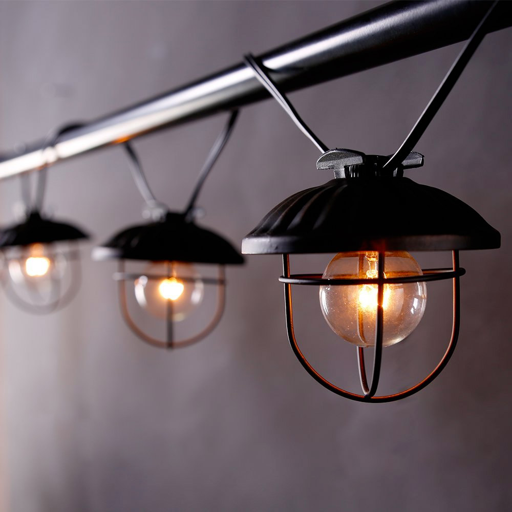 Led String Lights Industrial : 30 Industrial Style Lighting Fixtures To Help You Achieve Victorian Finesse