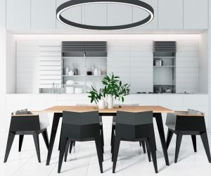 Decor 30 Black White Dining Rooms That Work Their Monochrome Magic