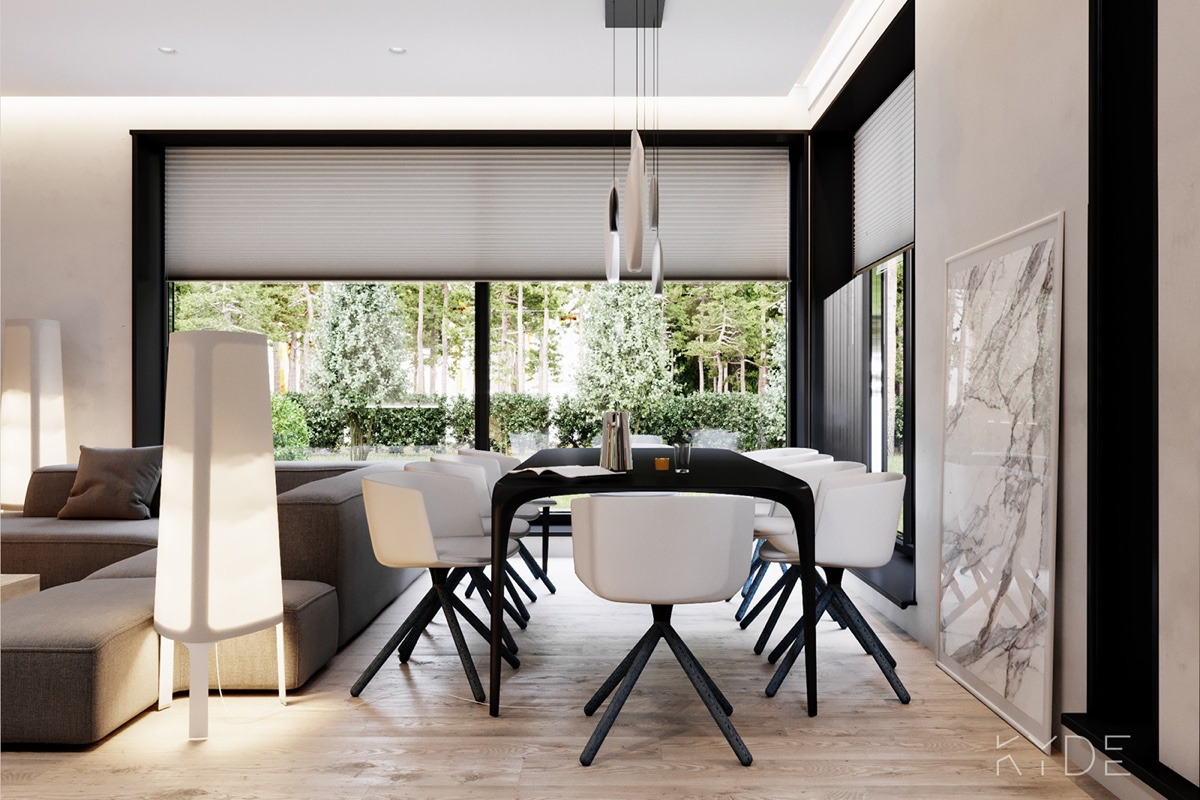 Dining Area By Large Windows - A summer ready home perfect for your dream vacation