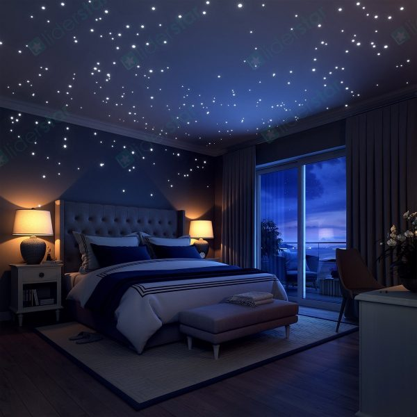 50 space themed home decor accessories to satiate your for Outer space bedroom design