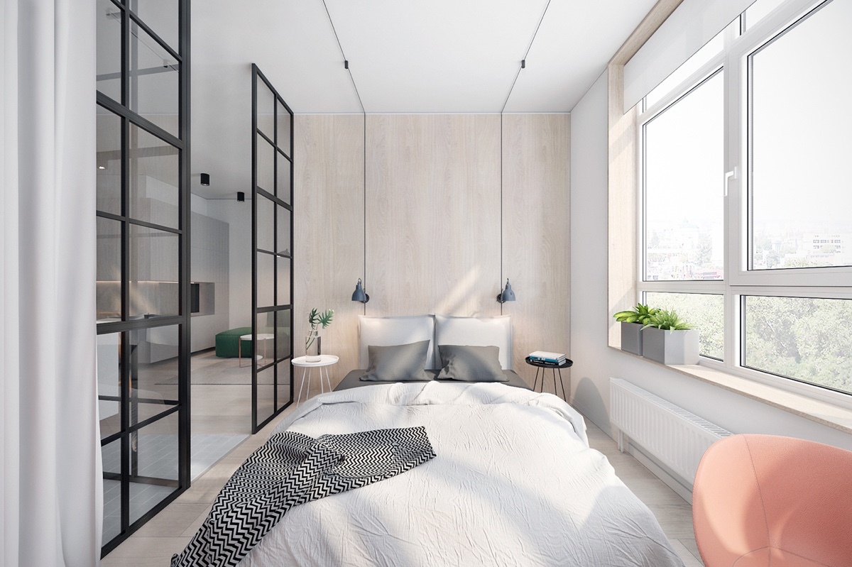 3 Fabulously Sleek Studio Apartments That Are Timeless