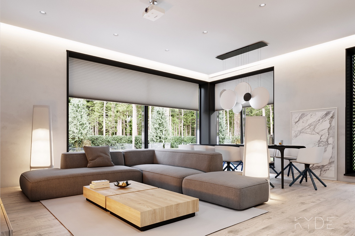 Living Room View Of Garden - A summer ready home perfect for your dream vacation