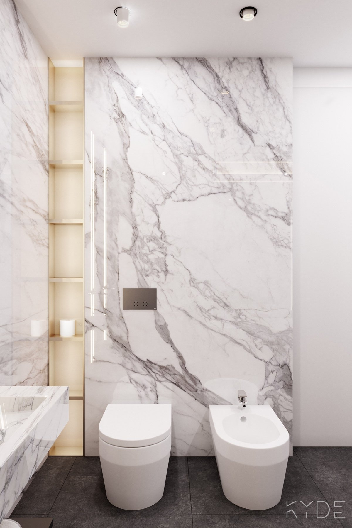 Marble Wall His And Hers Amenities - A summer ready home perfect for your dream vacation