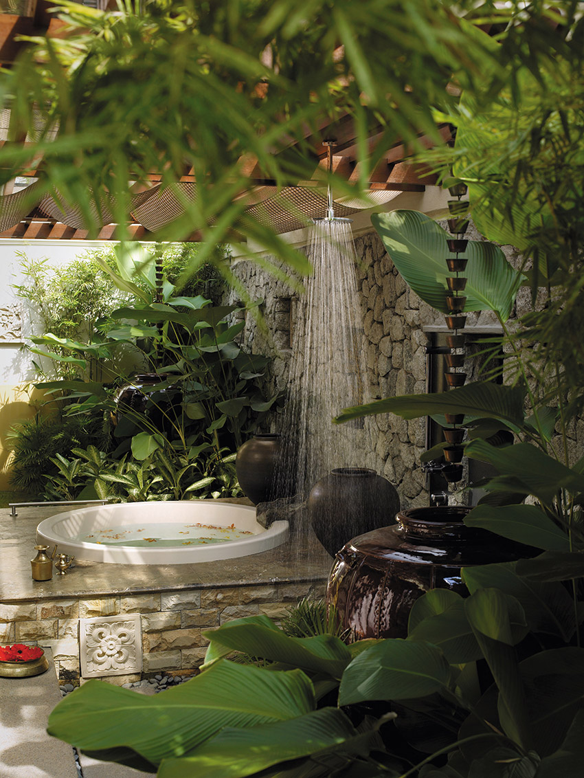 Outside Spa Garden Shower Design - 50 stunning outdoor shower spaces that take you to urban paradise