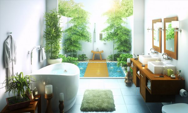 50 Stunning Outdoor Shower Spaces That Take You To Urban