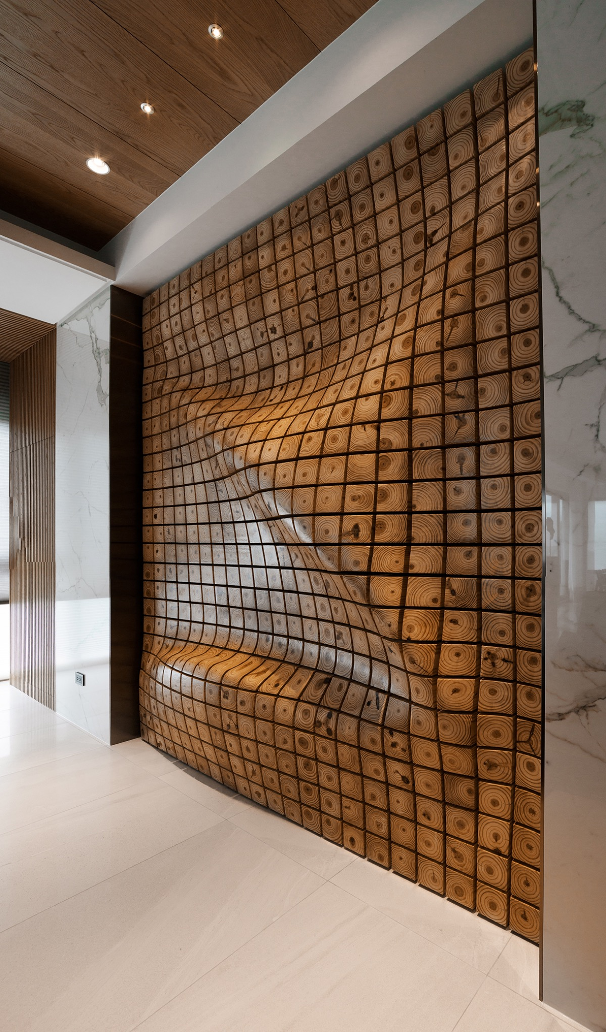 Amazing Wood Wall - 4 homes with design focused on beautiful wood elements