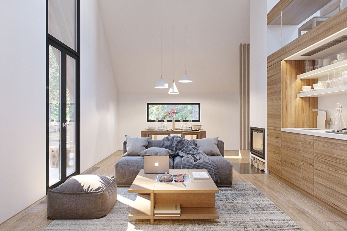 Compact Apartment With Loft Open Layout - 3 fabulous apartment designs with lofted bedrooms