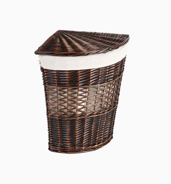 50 unique laundry bags baskets to fit any theme - Whites and darks laundry basket ...